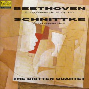 BEETHOVEN & SCHNITTKE: STRING QUARTETS   Released: April 1991  Orchestra: The Britten Quartet  Composer: Beethoven & Schnittke