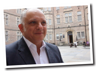 2013 PROFESSOR OF NEW WORK   Appointed as joint Professor between Glasgow's Royal Conservatoire of Scotland and the University of Edinburgh; the idea being to populate the Edinburgh fringe with new work based on arts collaborations.