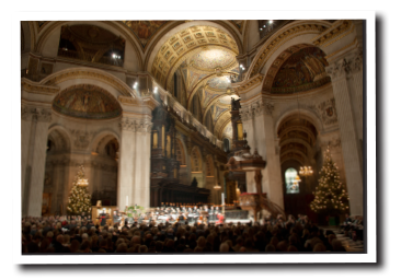 2014 ST PAUL'S CHARITY EVENT   Music Director for St Paul's annual charity event. Conducting for mezzosoprano Dame Ann Murray and tenor Toby Spence, in front of an audience of 2500 people, including Gwendoline Christie from Game of Thrones, and Amadeus star Simon Callow. Also in attendance was Her Royal Highness the Duchess of Cornwall.