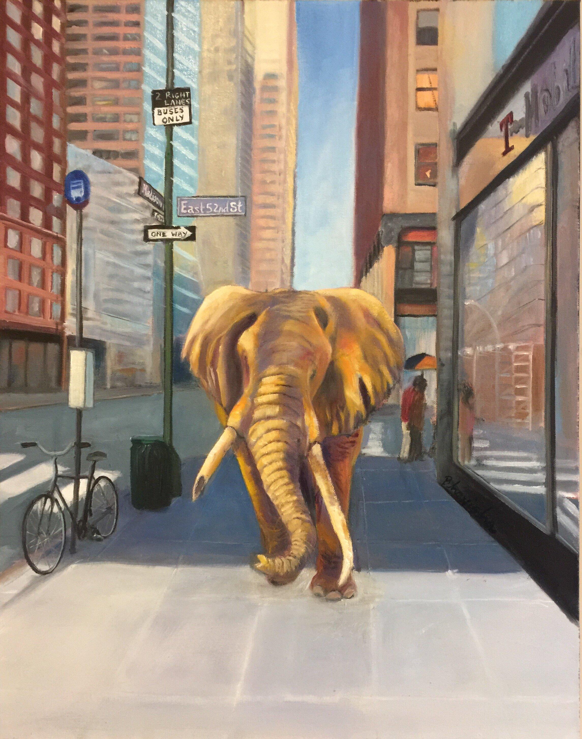 Bhavisha Patel Elephant on Madison Ave.jpg