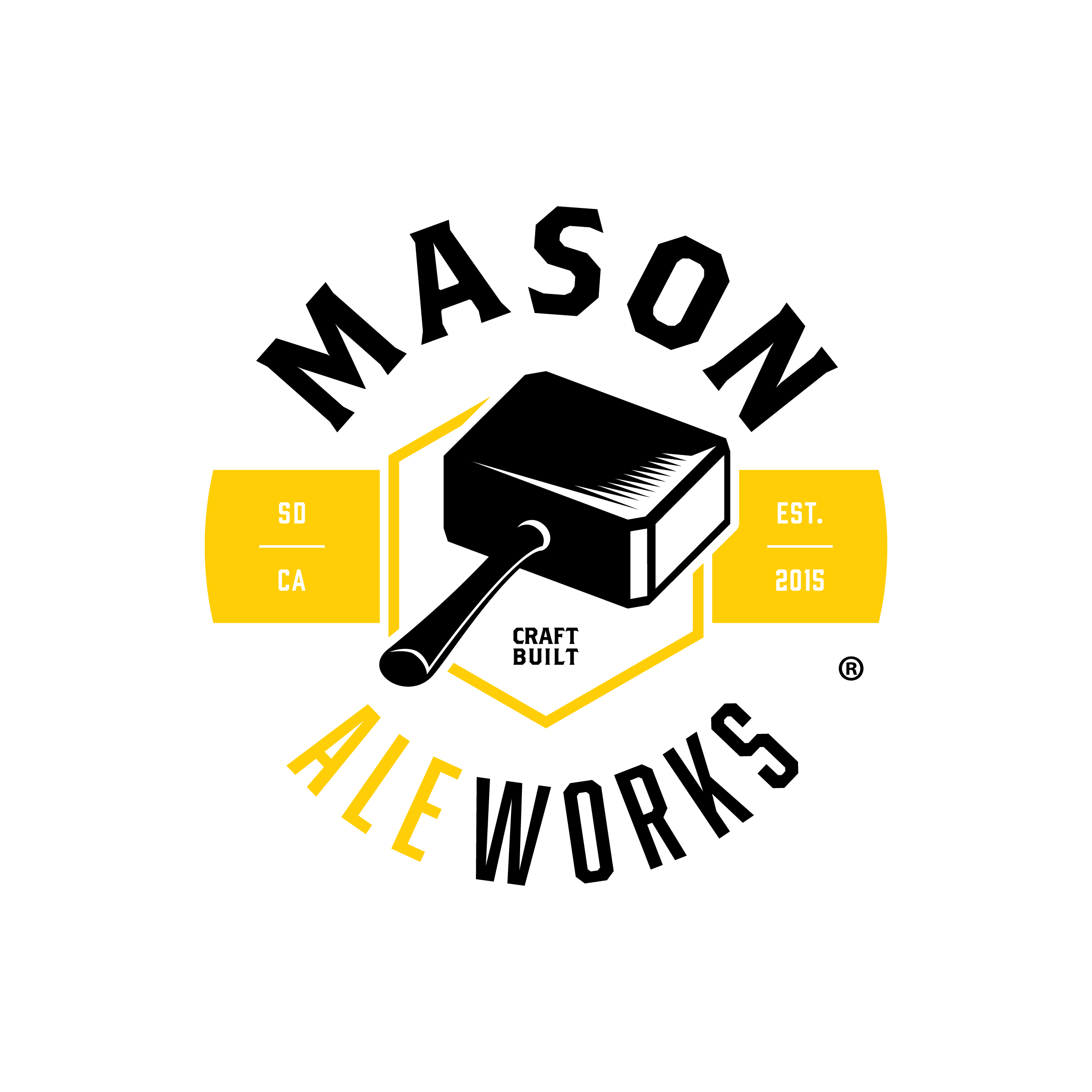 craft beer & wine - Featuringmason aleworks craft beers- - - - - - - - - -JambiWest coast IPA6.7% abvHops: Simcoe, Amarillo,Mosaic, Citra, CascadeAroma: Lemon, Grapefruit& Navel orangeTaste: Dry finish with anaggressive hop finish- - - - - - - - - -Willy TimeBelgian style white ale5.0% abvBrewed with bitter orange peeland corianderHops: german magnumAroma: citrus and bananawith notes of cloveTaste: crisp and refreshing ale- - - - - - - - - -Cash ImperialImperial coffee stout9.4% abvHops: german magnumAroma: chocolate, oats andpronounced coffeeTaste: rich mocha flavors- - - - - - - - - -James H. TrotterSour - Berliner Weisse4.5% ABVNotes of Peach Cobbler, Honey,with a soaring high acidity