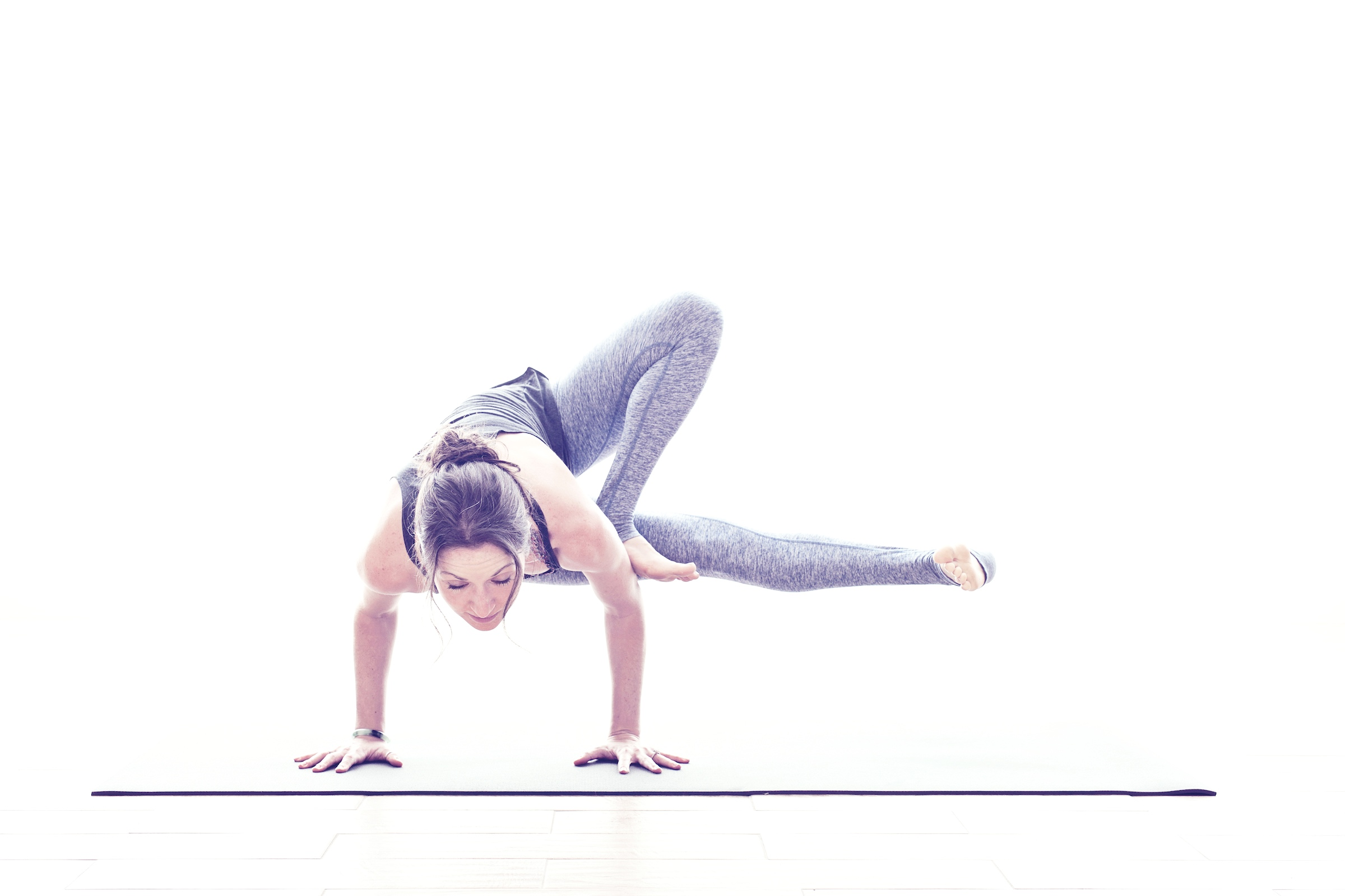 Vinyasa  Vinyasa derived from Ashtanga yoga. Movement is linked to the breath, with a focus on flexibility, strength and balance. All of our vinyasa classes are multi-level. We welcome you wherever you are in your practice.
