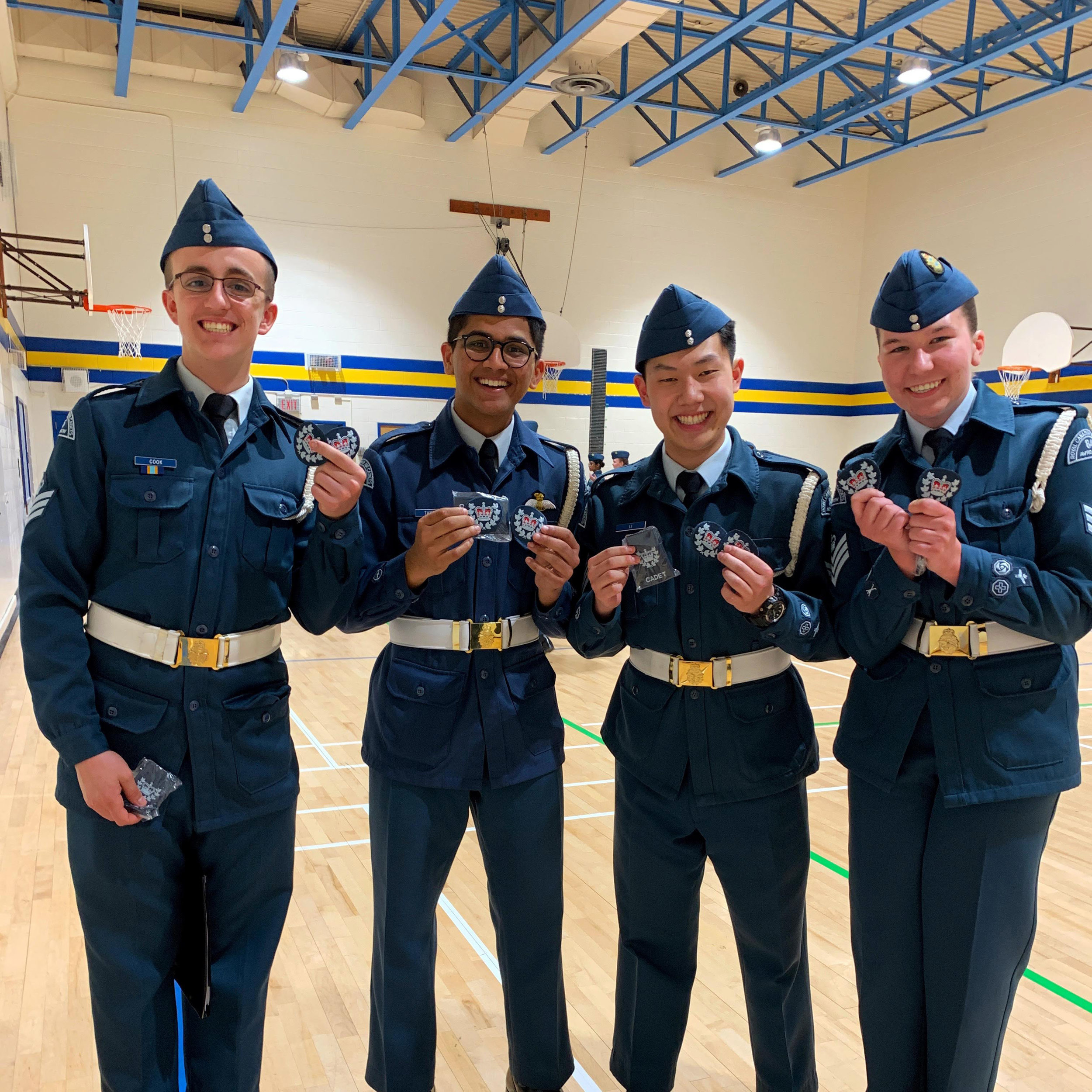 Newly Promoted Warrant Officers!