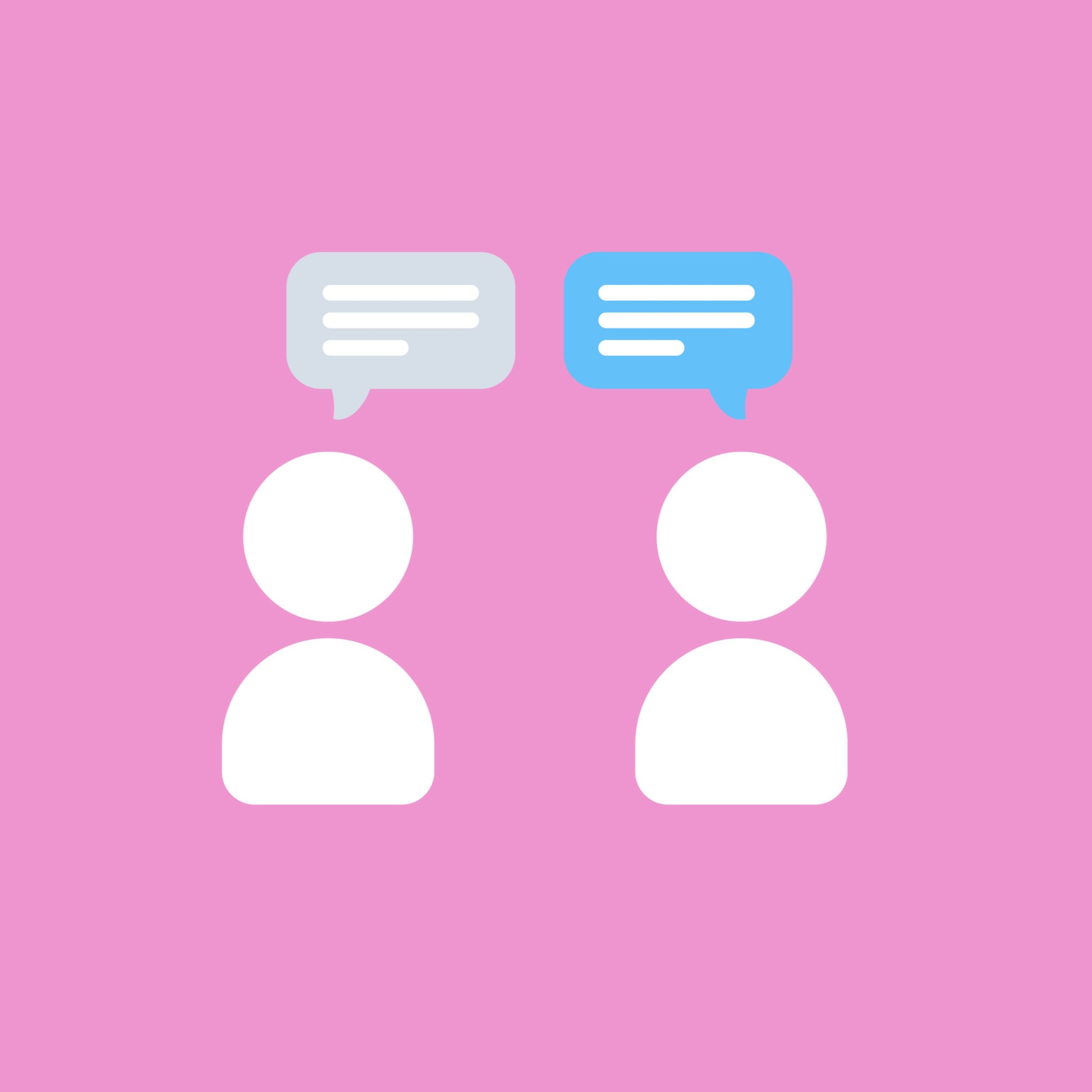 Open Chat - Open a discussion from members section in your task.
