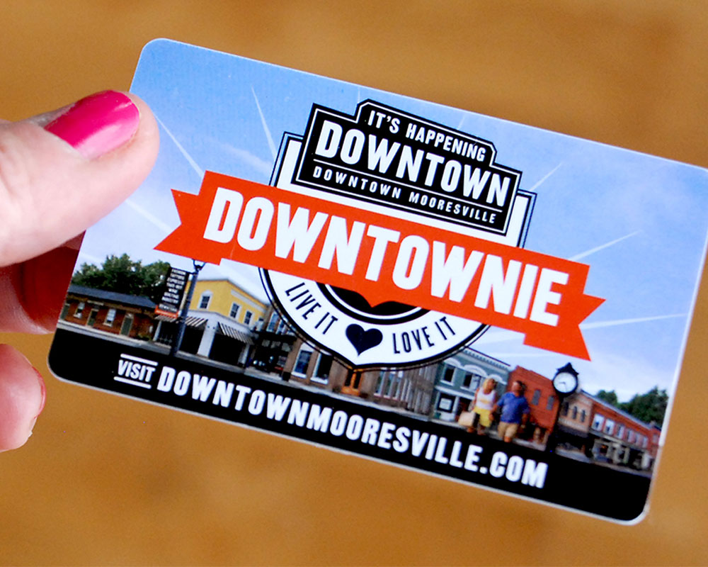 FINAL : Your Downtownie card finally arrives!