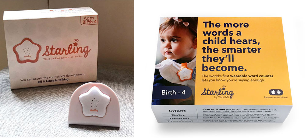 BEFORE AND AFTER:  The original packaging on the left didn't communicate the product or it's value. My  redesign  on the right led with the value proposition and steadily unfolded the whole story in easy-to-digest snippets.
