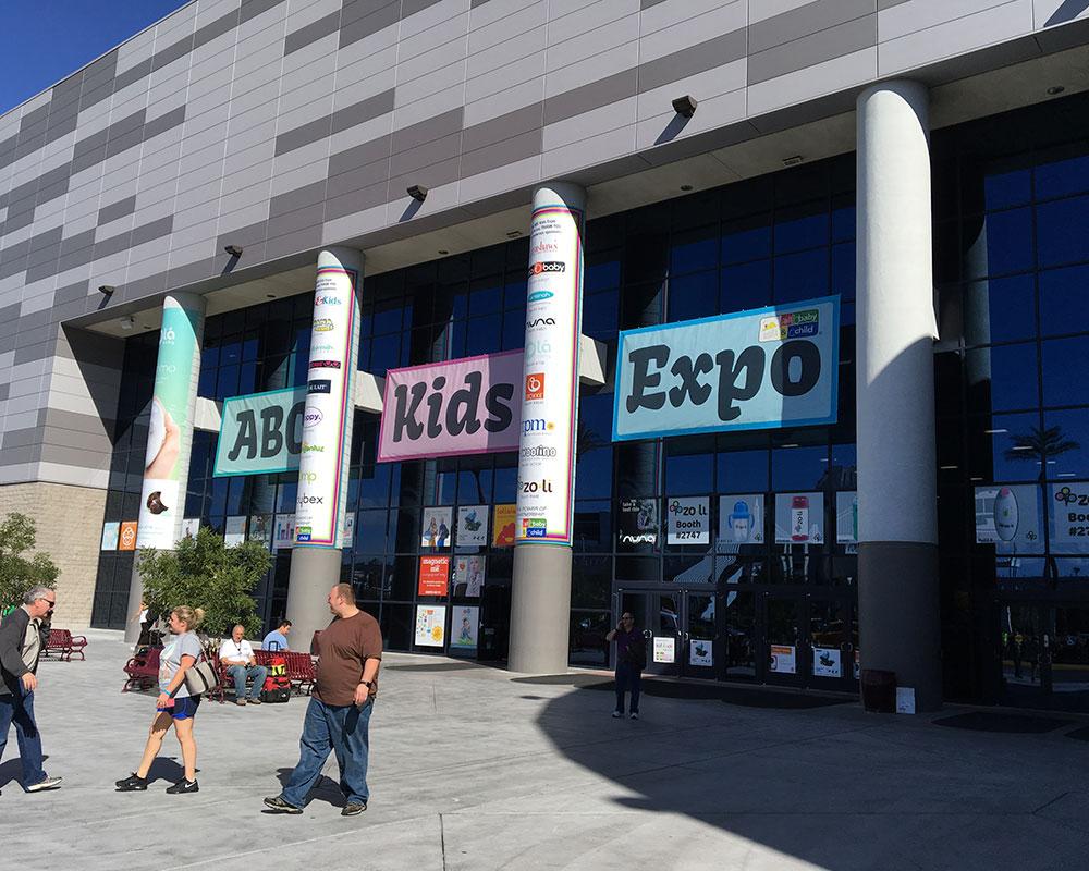 ABC SHOW:  Mmmmmm. Vegas convention center. Soak it in.