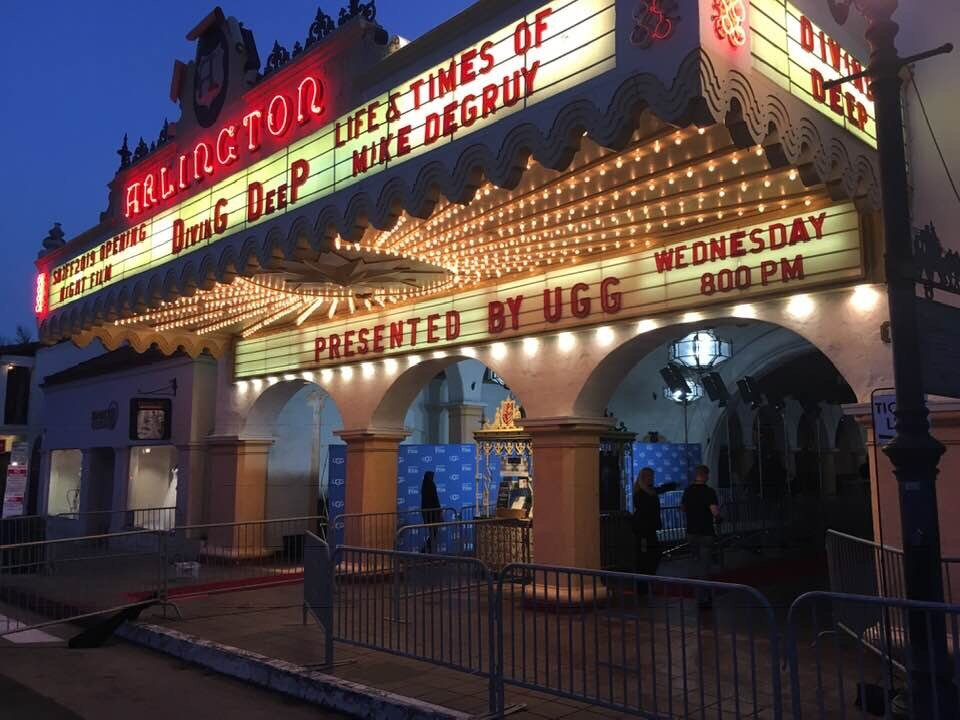 Marquee opening night SBIFF