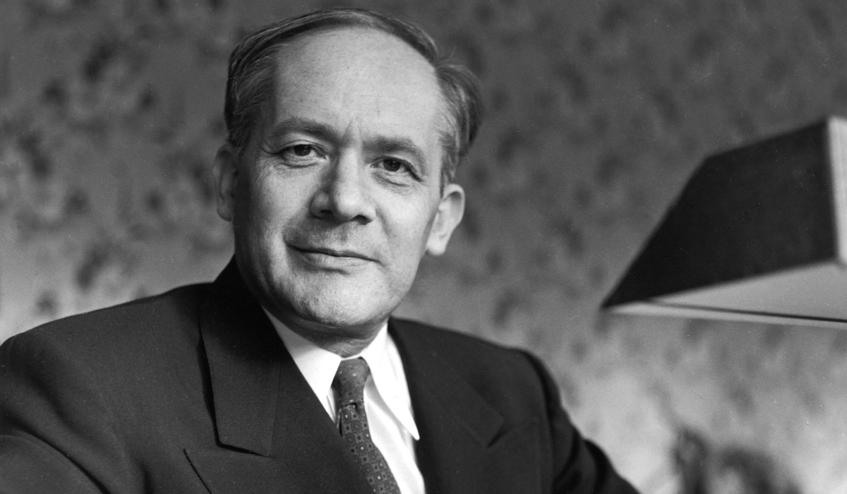 """Raphaël Lemkin - Originator of the word """"genocide"""" and leader of the global movement to outlaw genocide at the United Nations"""