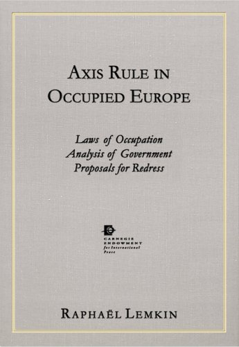 Axis Rule in Occupied Europe.