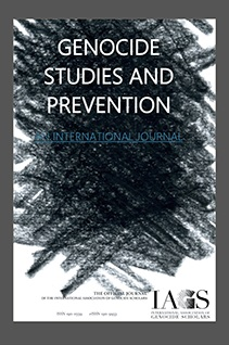 "Laura Collins, T. Lyons and W. Adeboye, eds., ""Special Issue: Rethinking Genocide, Mass Atrocities, and Political Violence in Africa,"" Genocide Studies and Prevention Vol. 13, No. 2 (2019). -"