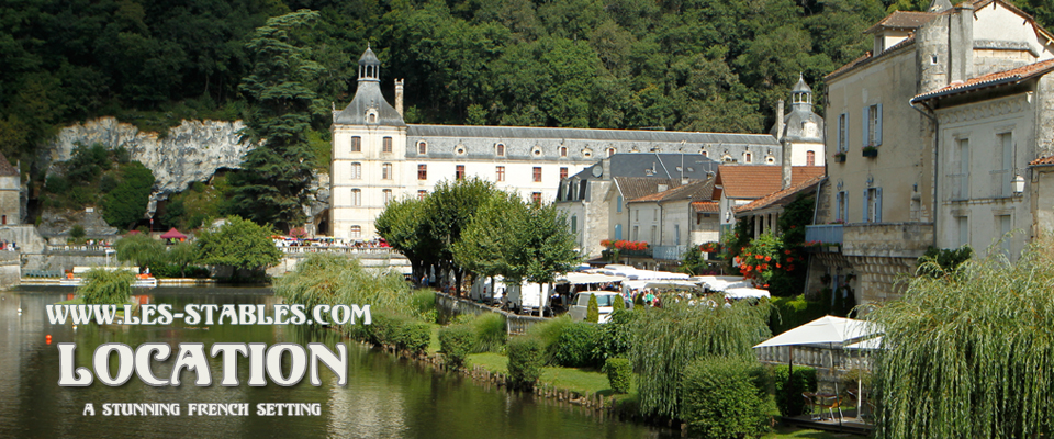 brantome - The Market Run on Monday allows you to mix training with a bit of sightseeing