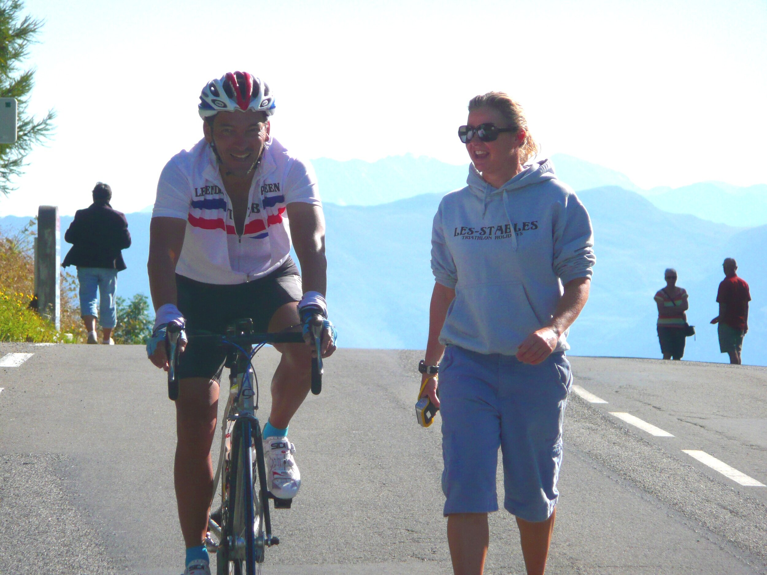 Guide rider and run coaching… of course it hurts, everything worthwhile hurts.