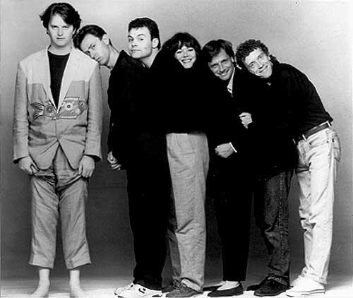 Paul Merton, Lee Simpson, Neil Mullarkey, Josie Lawrence, Richard Vranch, Jim Sweeney.