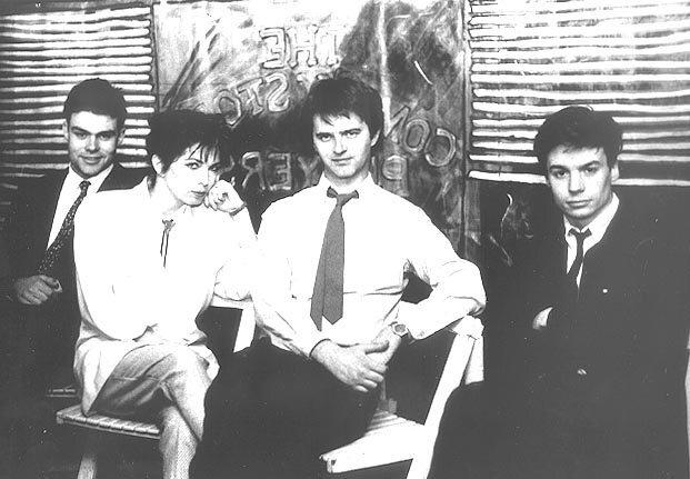 Neil Mullarkey, Kit Hollerbach, Paul Merton, Mike Myers.