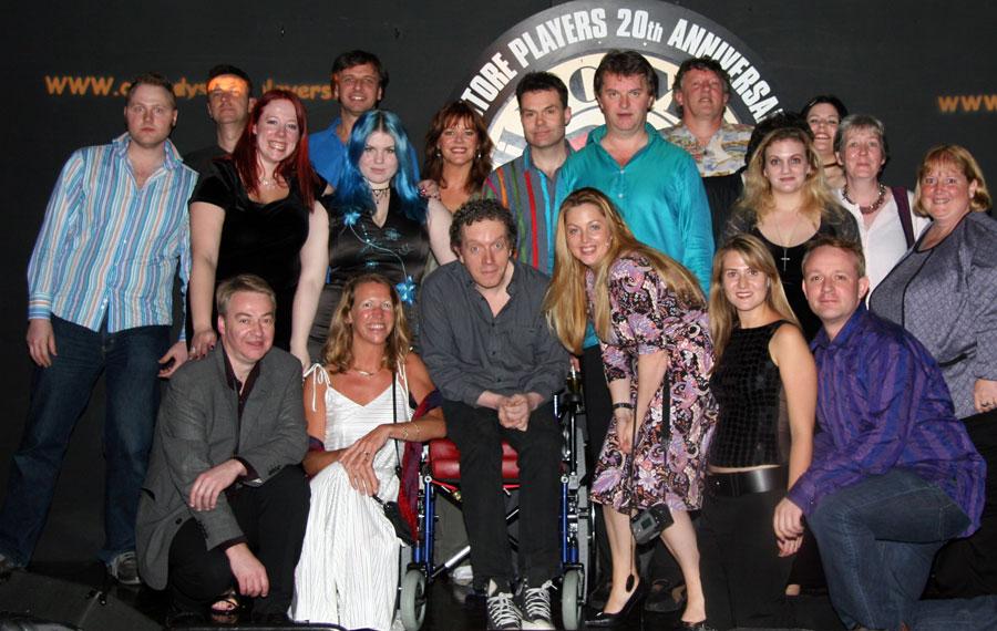 Lee, Richard, Josie, Jim, Neil, Paul, Andy, plus their fan club The Comedy Store Regulars.