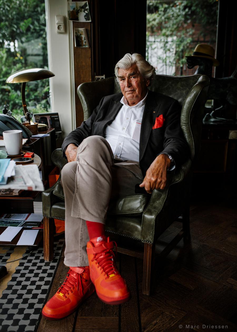 Commercieel vastgoedman Cor van Zadelhoff, vandaag in  Het Parool .