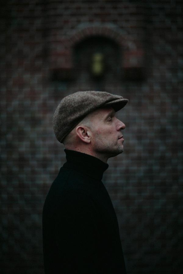 Hoorn, 22 februari 2016. Onno Smit, zanger gitarist van  Beans & Fatback , voor het  Parool .