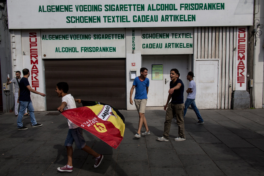 Belgium during the World Cup Football. See series in progress  here . Regular updates.