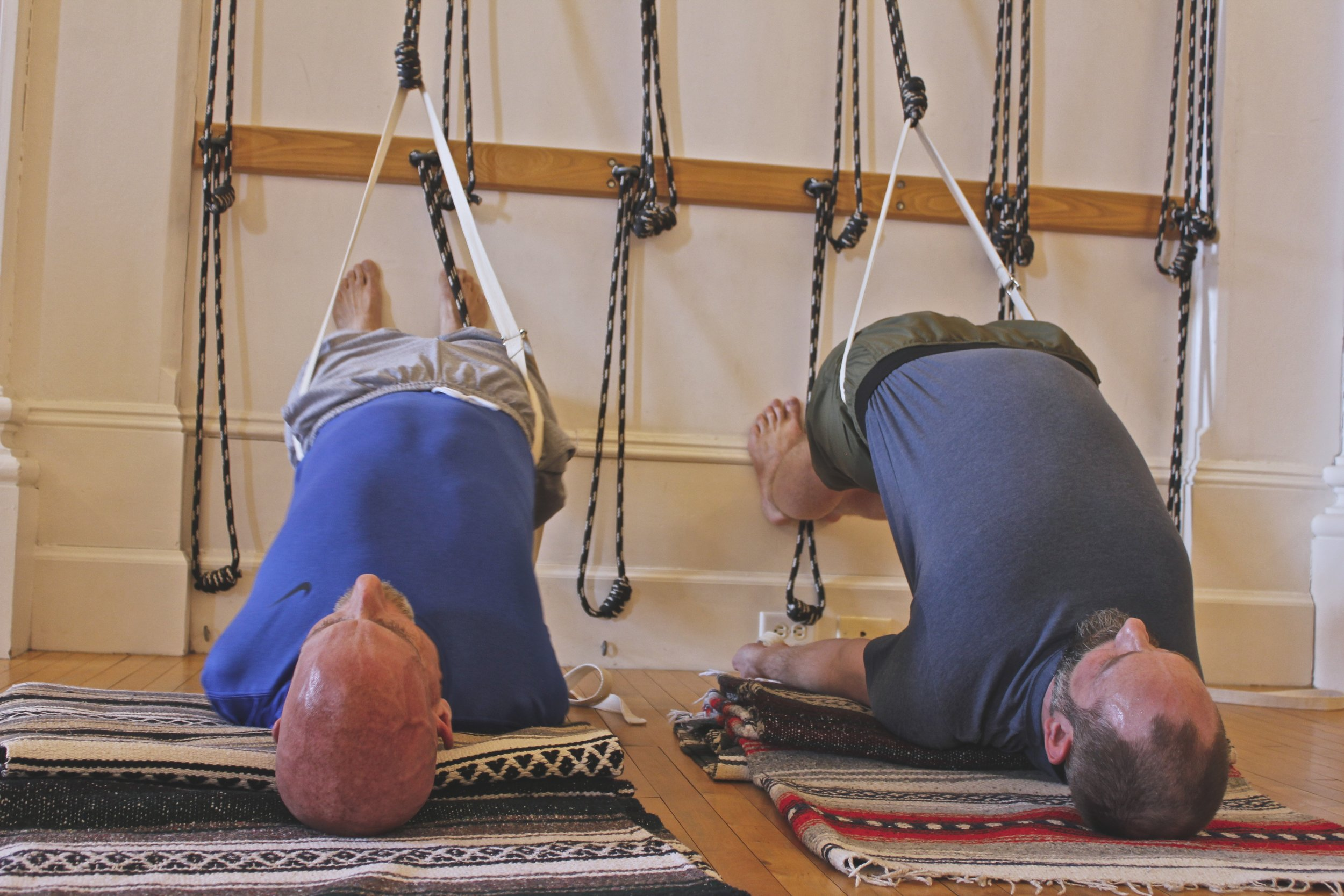 New Sunday Yoga Ropes Class 10:00 - 11:30 AM - Darrin Vander Plas will lead a weekly ropes class that will create heat, opening, and release.