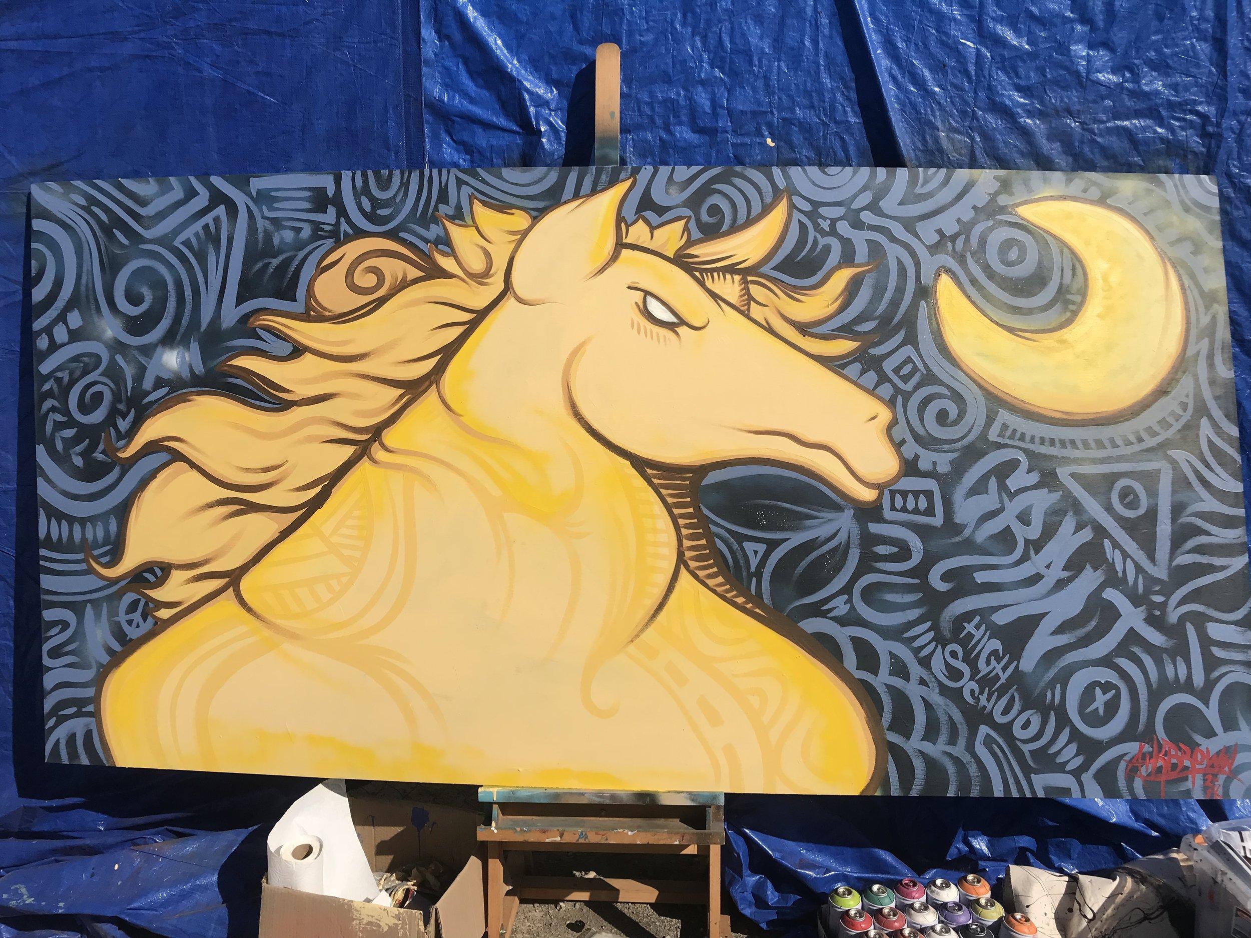 Pacers, Crocker Art Msueum's Block by Block Event, Grant High School, Sacramento, CA, 2018.jpg