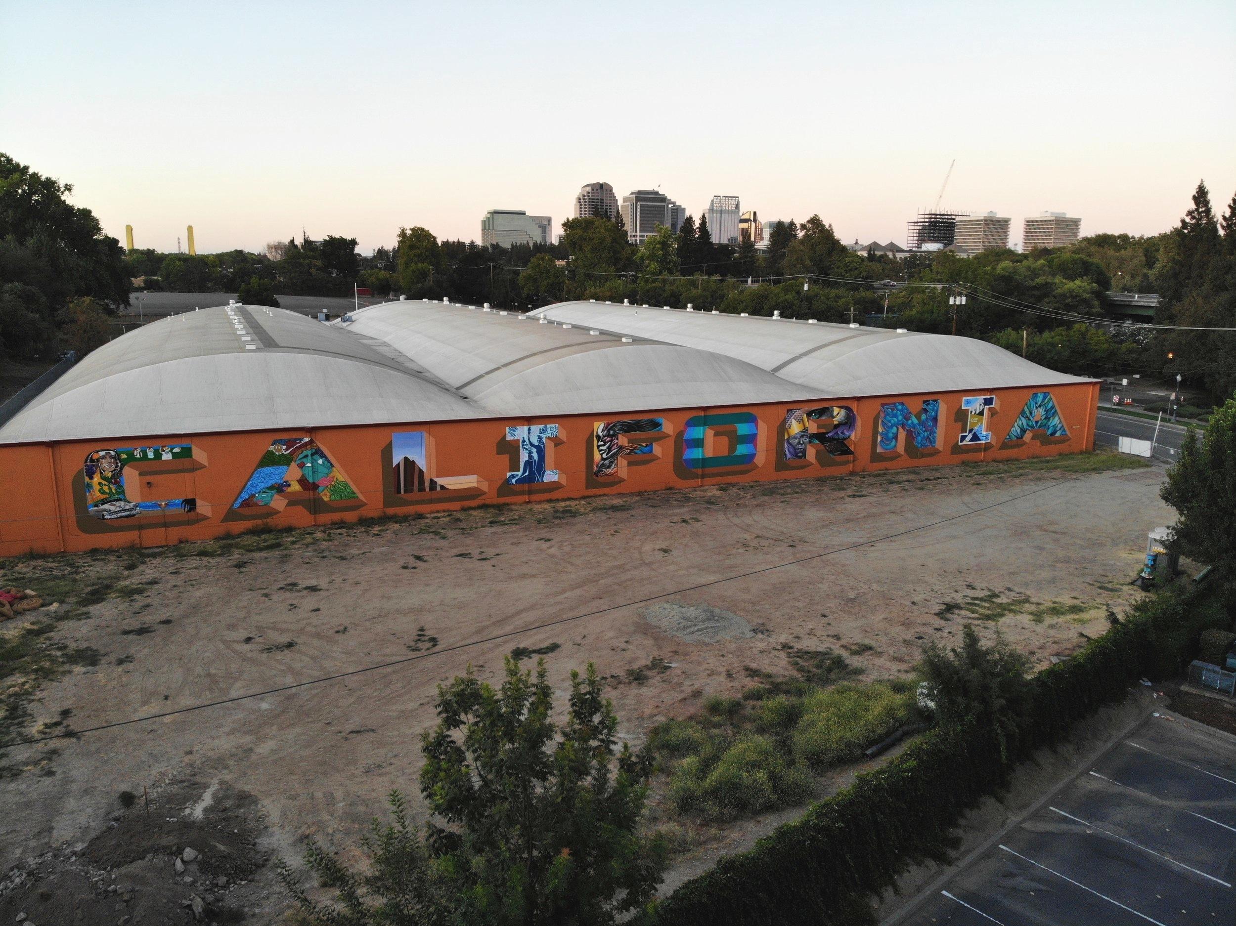 Collaborative California Mural