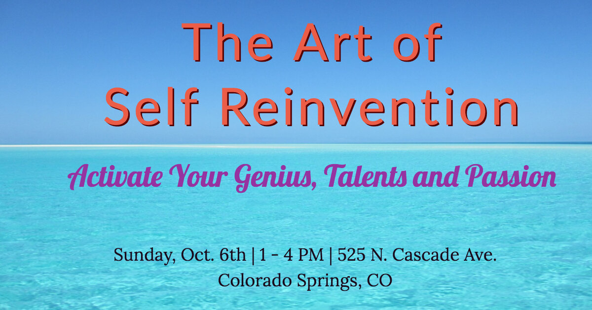 The Art of Self Reinvention