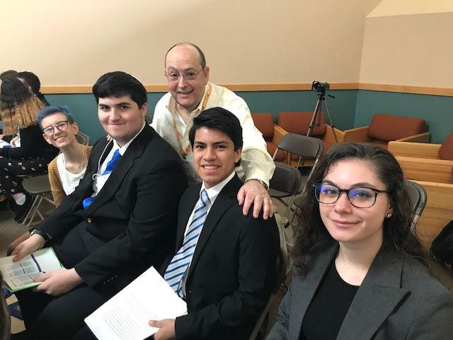 Mercaz Conservative Hebrew High School wins second place in  Moot Beit Din  Competition