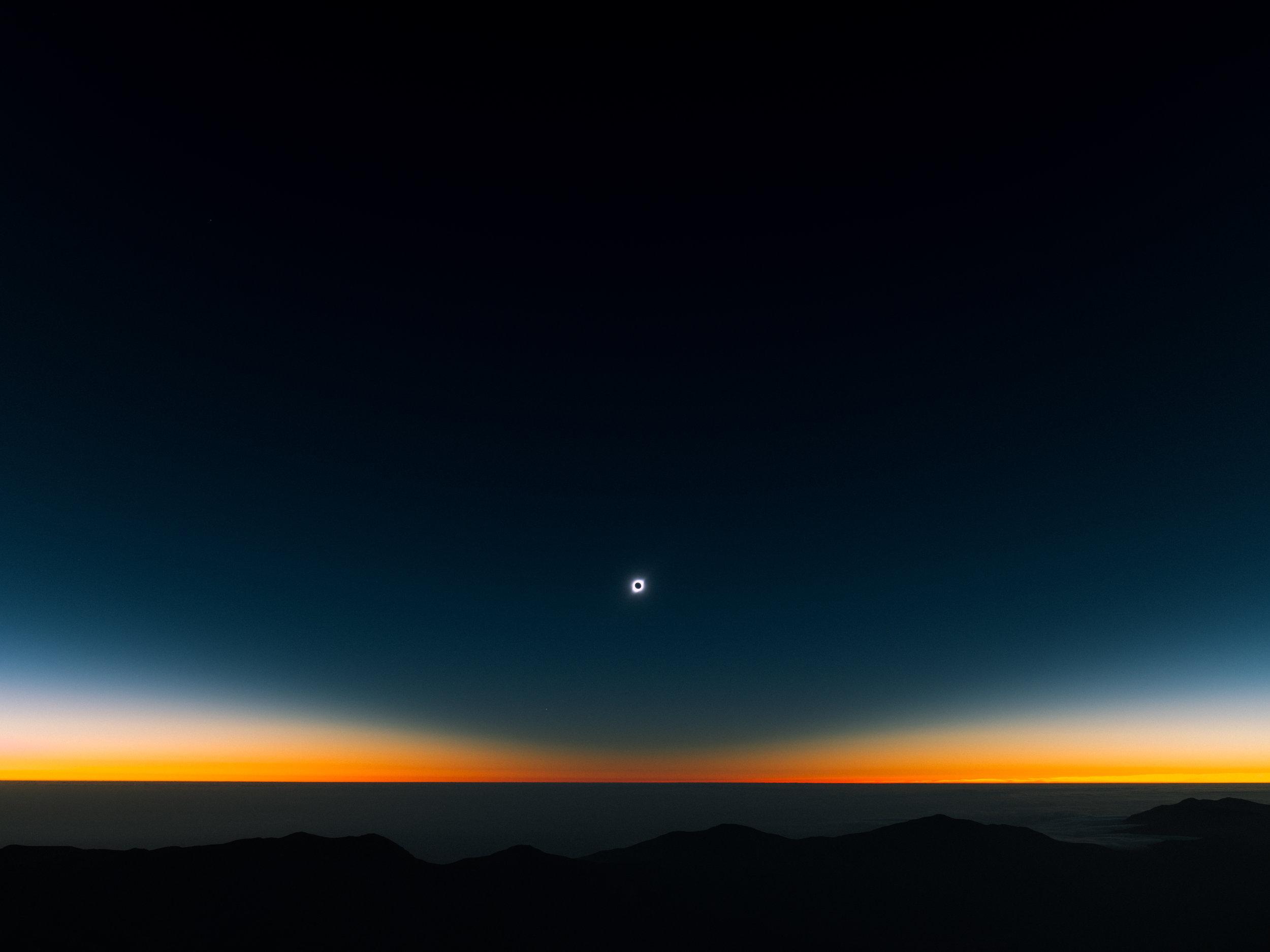 Totality.  Photo: Reuben Wu