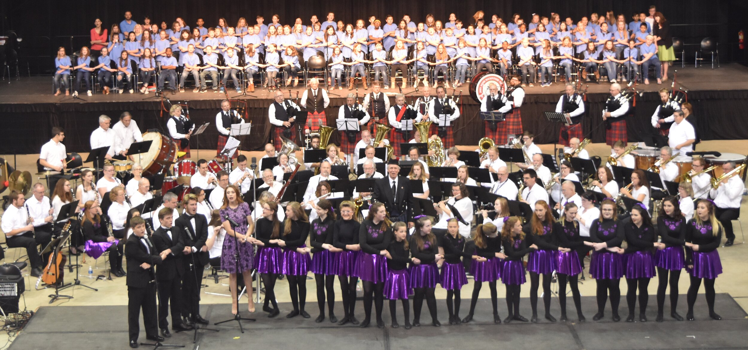 """04/18/2020 7:30pm Forum River Center    """"Across the Big Pond XX""""   Gala Celtic variety show featuring NW GA Winds, bagpipers, dancers, singers, and much more!  *Ticketed Event*"""