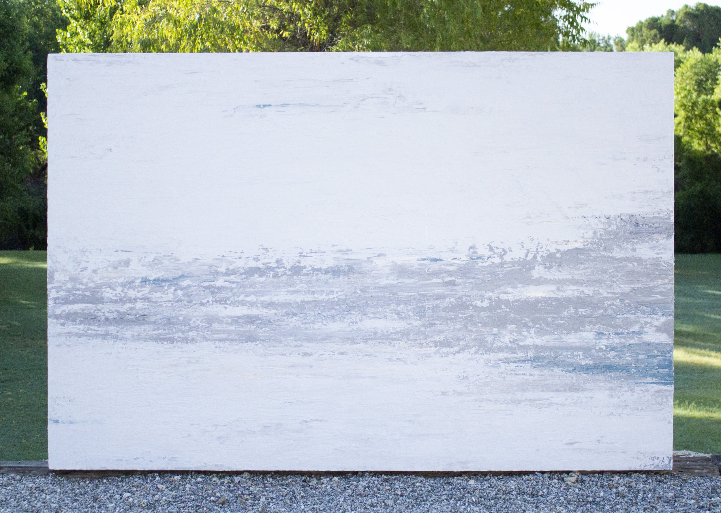 UNSHAKEN | 72in X 48in X 2.5in  - custom gallery wrapped canvas - sold