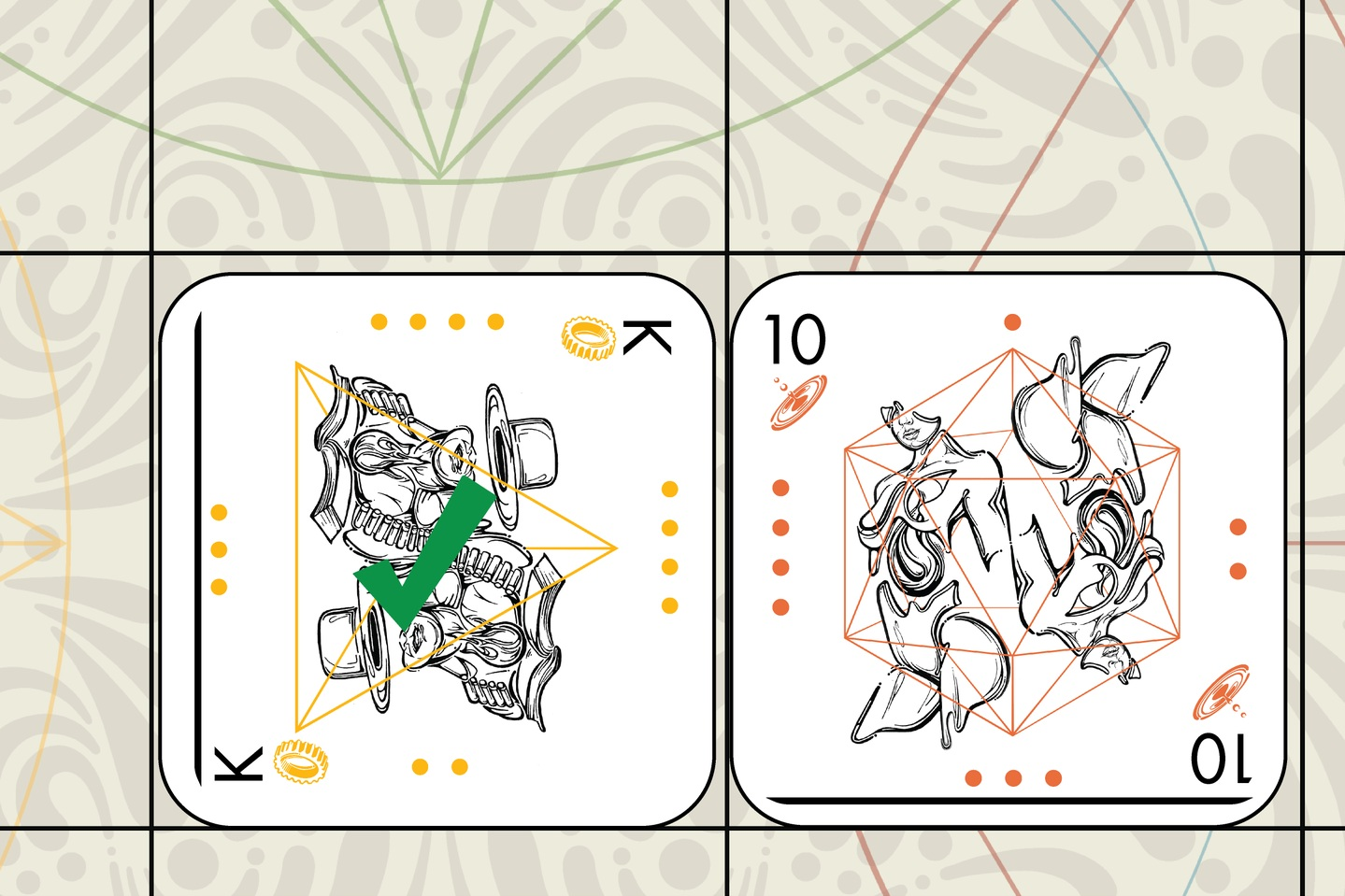 South then moves West's King into a threatened position (Souls consumes Gears).