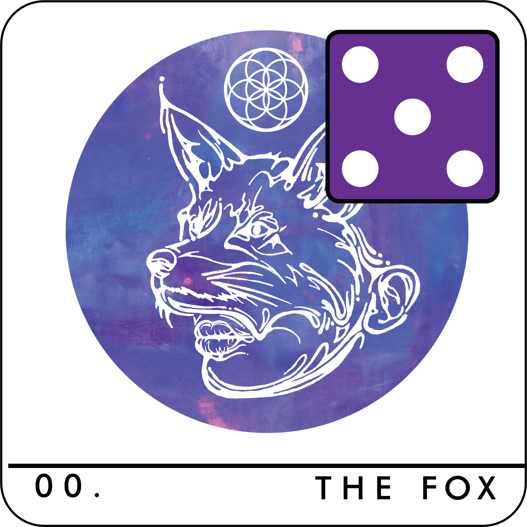 When you do, place the Fox die on the card set to (5). Reduce the die value by (1) at the start of each of your turns.