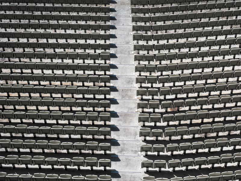 MCG, Seats left and right, by Tony Harding