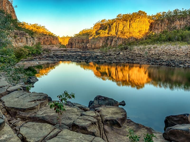 PRINT - A Grade Open - Commended - Beresford Gary, Sunset at the Gorge