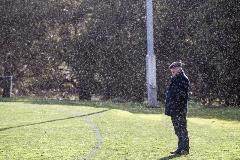PRINT - Set Subject (Backlit) - Commended - Gillies, Kath, Spectator in the rain