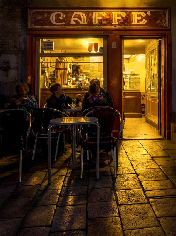 PRINT - Set Subject (Backlit) - Commended - Mirabile Mario, Cafe society