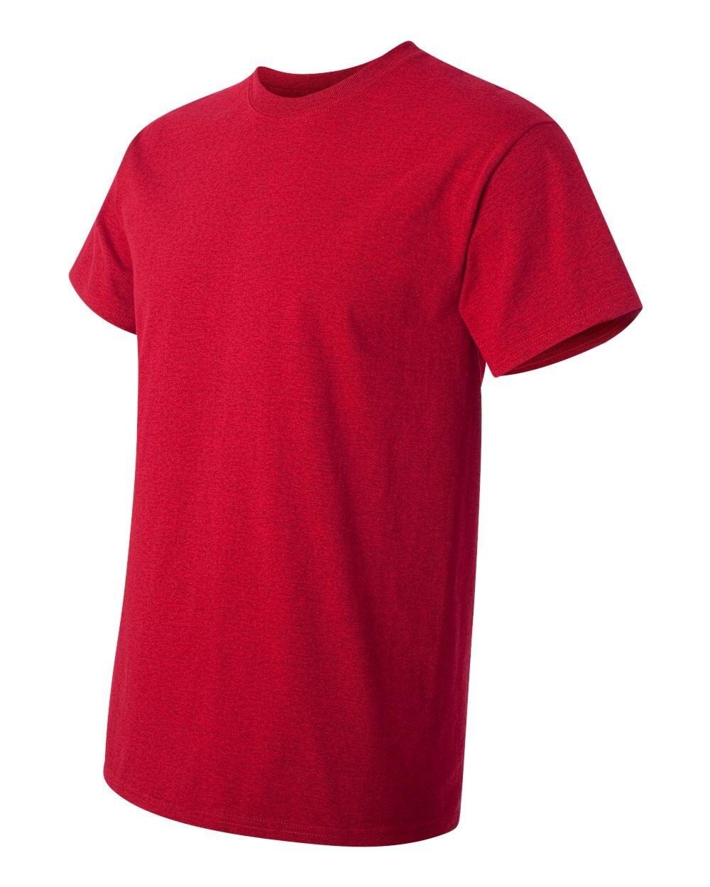 gildan cherry red t shirt