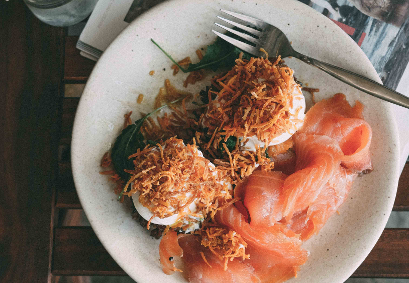 It's not a benedict w smoked salmon by Haven Specialty Coffee