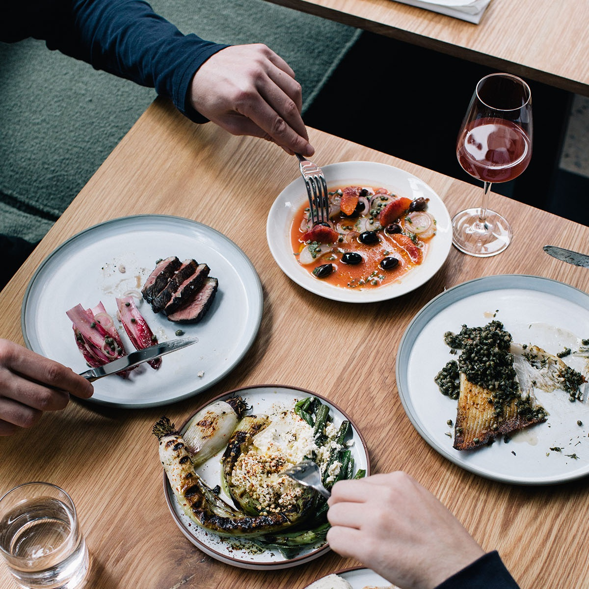 Dining. - Our menu is a collection of small plates designed for sharing, the dishes change depending on whats in season and the quality of the produce available.