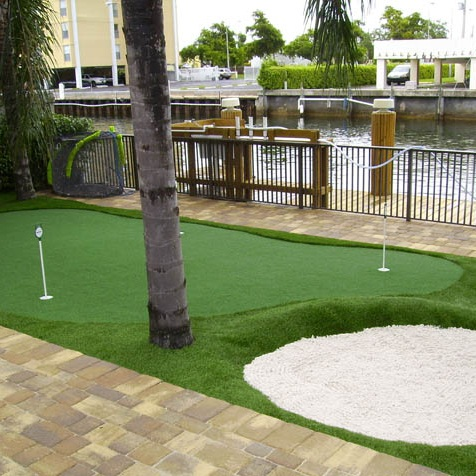 Home Putting Greens - Affordable outdoor entertainment that makes a lasting impression on your guests and neighbors!