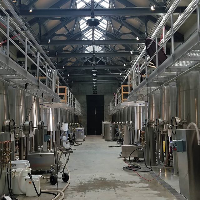 Large scale winery lighting, production floor, barrel storage, tastings rooms...all within our skill set. Three buildings and site saving energy with #LutronHomeWorks