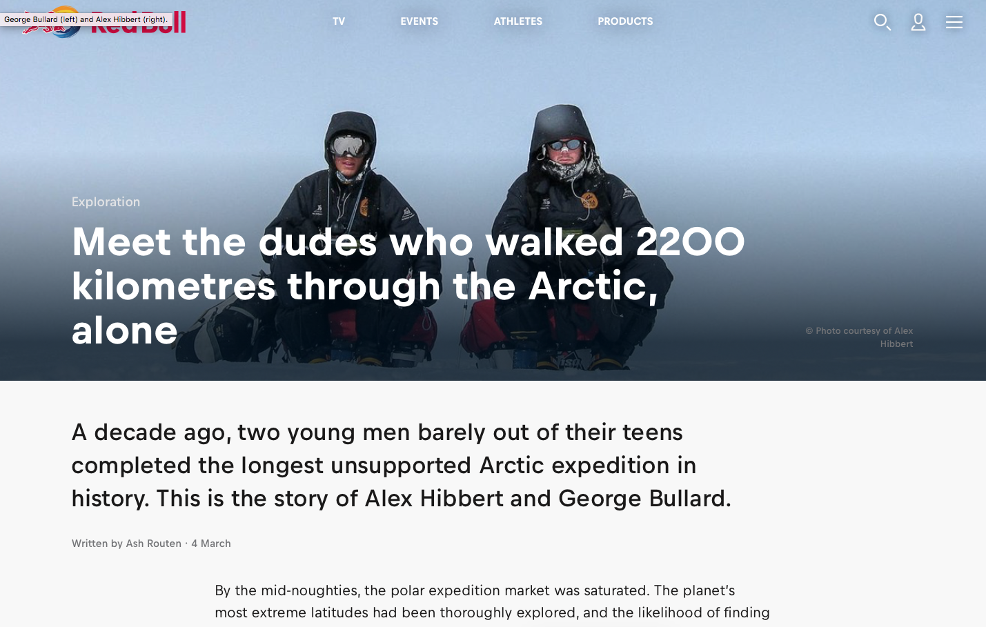 The tale of the longest unsupported Arctic expedition in history - Red Bull Adventure - March 2019