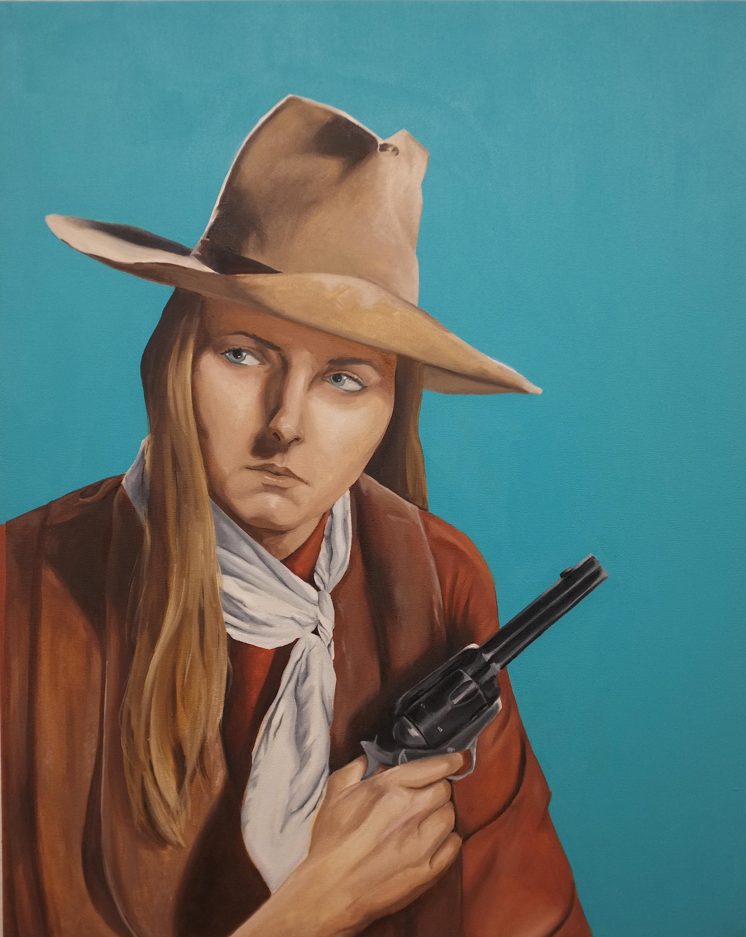 Self-Portrait as John Wayne (2016)