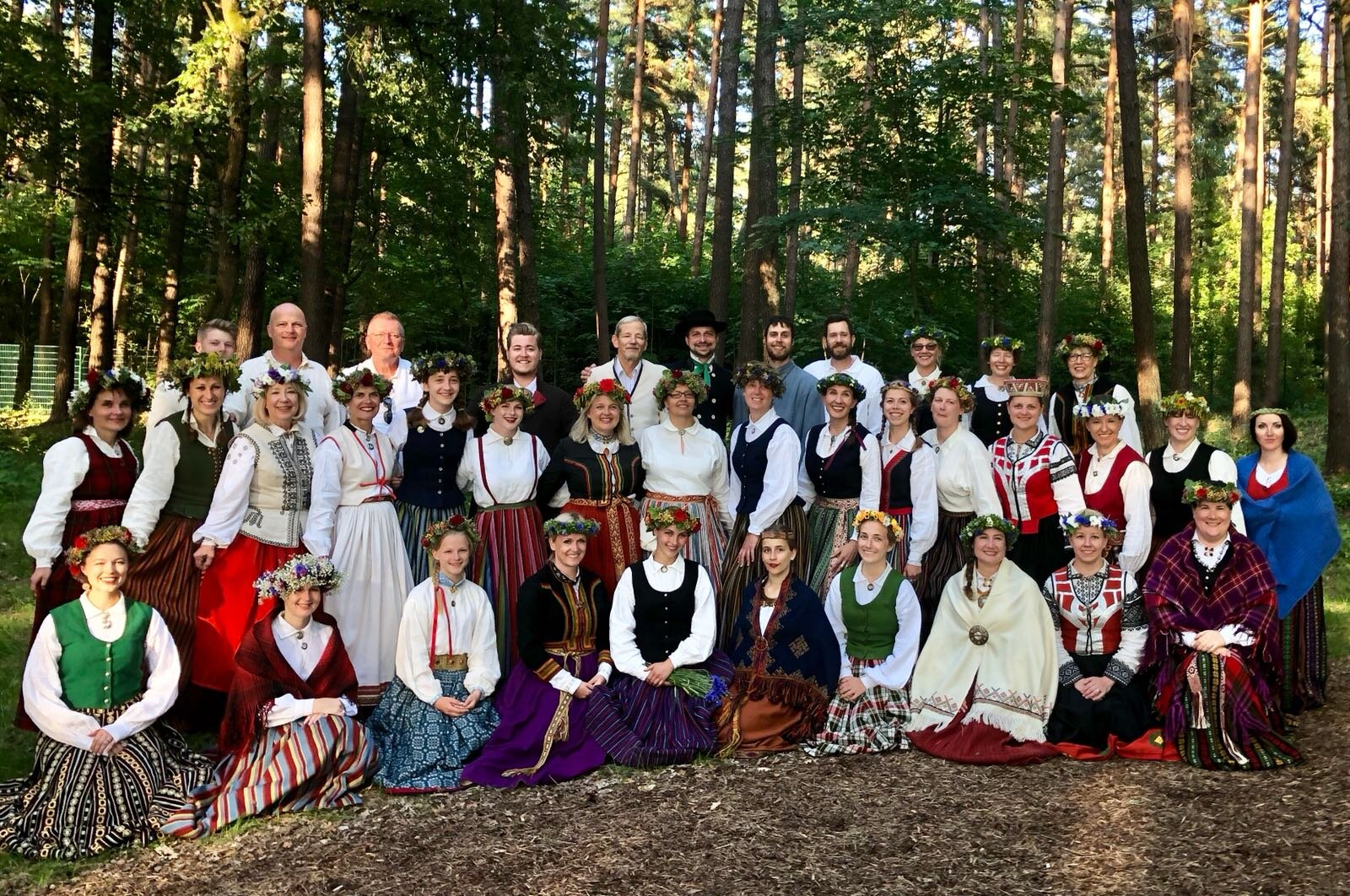 """""""The Boston Latvian Choir with which I sang, which is directed by a Latvian schoolmate of mine!"""""""