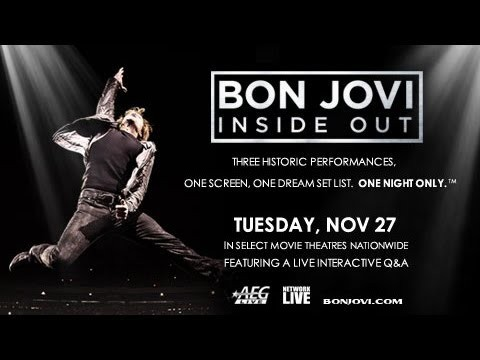 Bon Jovi - Inside Out | Cinema