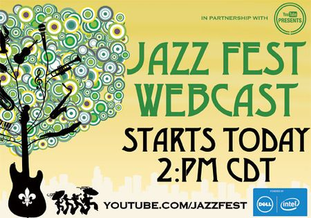 New Orleans Jazz Festival 2012 | Webcast