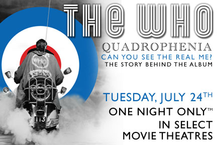 The Who: Quadrophenia – Can You See the Real Me? | Cinema