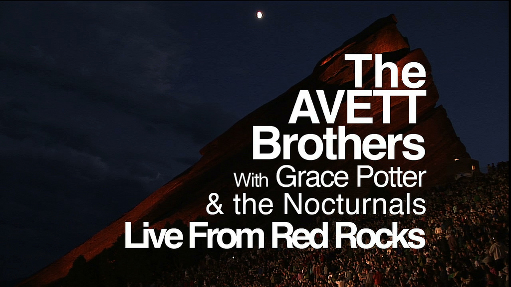 Avett Brothers @ Red Rocks Amphitheater | Webcast