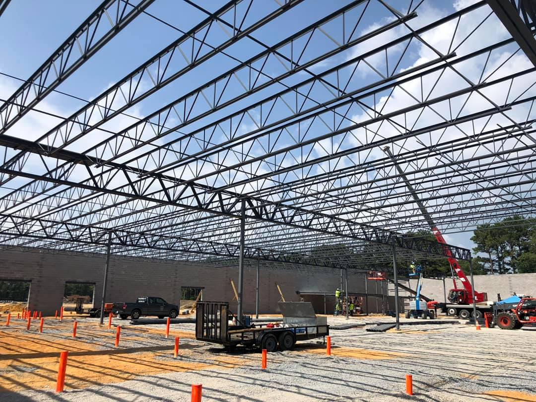 Food City, North Georgia - Fabrication + Erection   Supermarket   Completed 2018